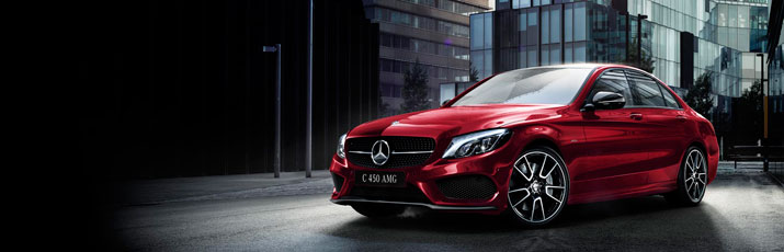 Новый C 450 AMG 4MATIC DTM Team Edition